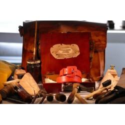 Cintura per donna in colore rosso