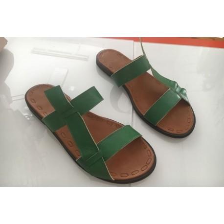 Sandali in pelle