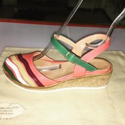 Sandali multicolori