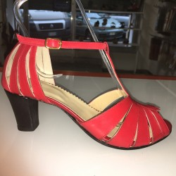 Scarpe eleganti colore rosso
