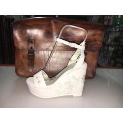 Sandali da Sposa colore bianco